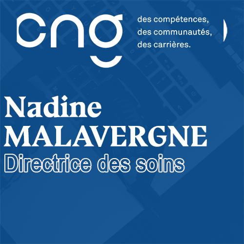 Podcast Nadine MALAVERGNE Directrice des soins